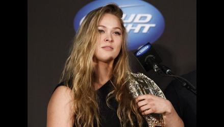 UFC: Ronda Rousey reveló su cábala antes de cada pelea