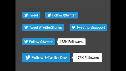 Twitter hará cambios en los botones de 'seguir' y 'tuitear'