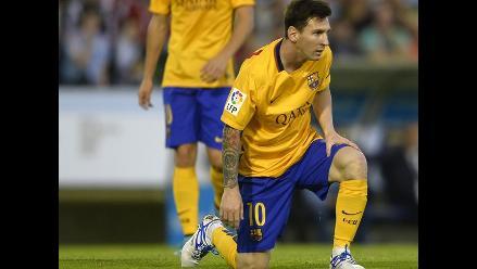 Barcelona vs. Celta: Lionel Messi y un pase de genio para el gol de Neymar