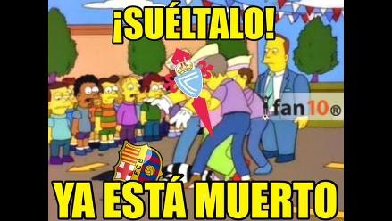 Barcelona: estos memes dejó su derrota a manos del Celta de Vigo