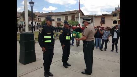 Cajamarca: reconocen a policías que devolvieron diez mil soles