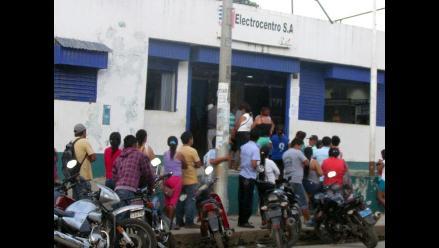 Satipo: pobladores realizarán marcha contra Electro Centro por cortes de luz
