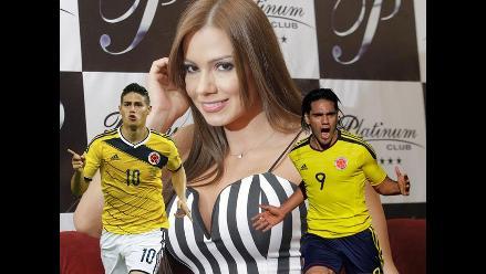 James Rodríguez y Falcao no 'inquietan' a actriz de cine para adultos