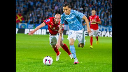Yoshimar Yotún: Mira el pase gol del peruano en el triunfo del Malmö
