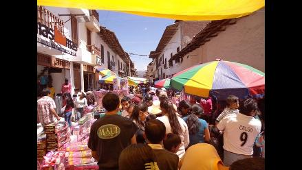 Cajamarca: a partir del 5 de octubre inician regulación de ambulantes