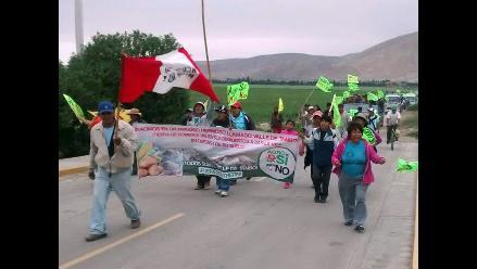 Arequipa: anuncian masiva marcha de los pueblos afectados por la minería