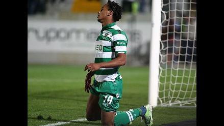 André Carrillo y Sporting de Lisboa cada vez más lejos, según prensa portuguesa