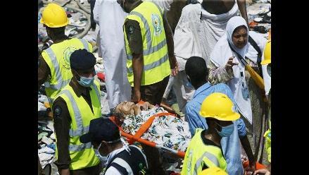 Al menos 717 peregrinos muertos en La Meca por aglomeración