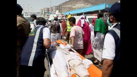 Al menos 717 muertos en estampida de peregrinos en La Meca