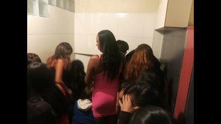 Intervienen a extranjeras en prostíbulo de Arequipa