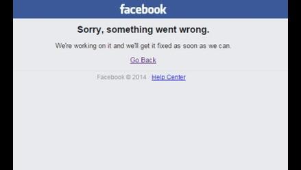 Facebook sufre caída de sus servicios a nivel mundial