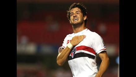 Alexandre Pato marcó un golazo en la victoria del Sao Paulo ante Vasco