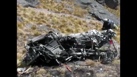Cusco: hallan los otros dos cuerpos desaparecidos tras accidente de helicóptero