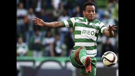 André Carrillo desairó al presidente del Sporting Lisboa