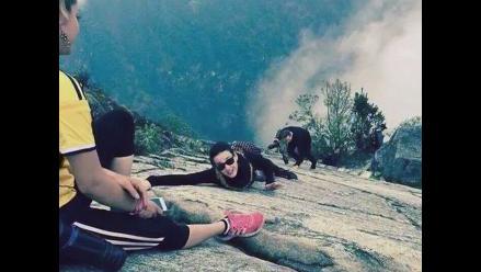 Katy Perry por fin recorrió la ciudadela inca de Machu Picchu