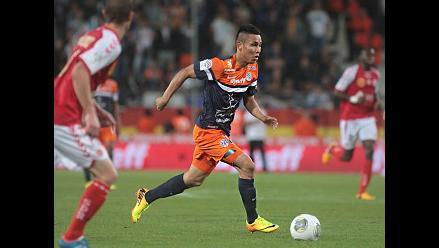 Jean Deza reapareció en la derrota de Montpellier ante Mónaco