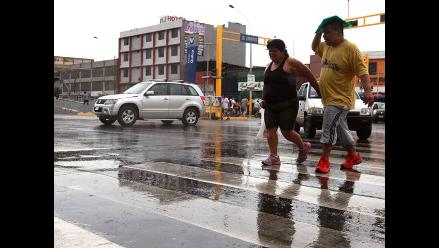 Lima: lloviznas y vientos fuertes se prolongarán hasta el domingo