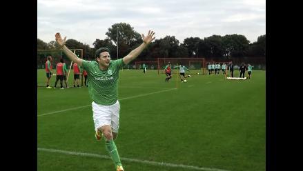 Twitter: Claudio Pizarro afina puntería para duelo con Bayer Leverkusen