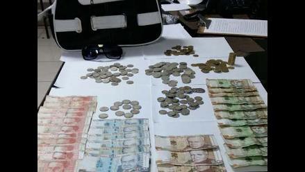 Ica: capturan a mujer y recuperan dinero robado de pollería