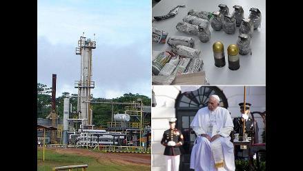 Resumen: Comunidades de Loreto levantan toma de Lote 192, Mininter anuncia amnistía de 90 días para entregar granadas y Francisco dice que sacerdotes pederastas causan vergüenza