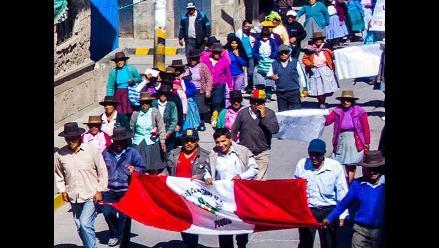 Ayacucho: comuneros protestan contra empresa minera en Puquio