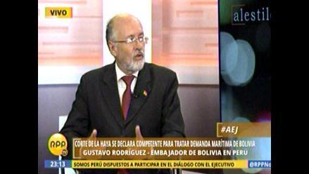 Embajador boliviano en Lima:
