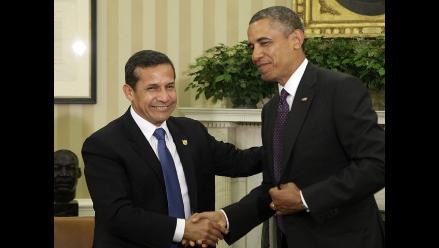 Obama y Humala hablan por teléfono sobre negociación del TPP