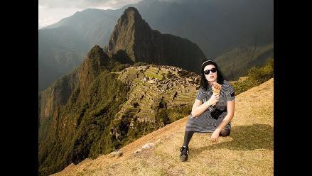Katy Perry recorrió Machu Picchu