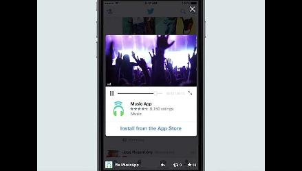 Twitter habilita nueva función de anuncios en video con 'autoplay'