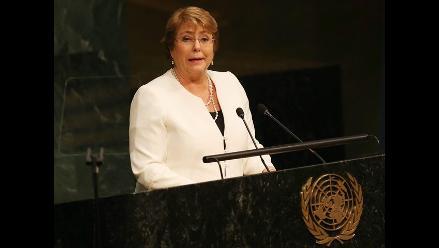 Bachelet: nueva agenda de desarrollo