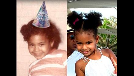 Blue Ivy es la hija de Beyoncé aunque algunos crean que es su clon
