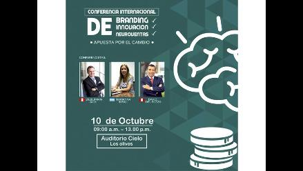 Conferencia de marketing Crea - innova - vende