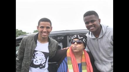 Lucía de la Cruz en Alianza Lima: Cantante sorprendió a jóvenes del plantel