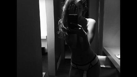 Gigi Hadid publicó una foto muy sensual y con poca ropa