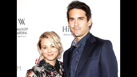 Kaley Cuoco se divorcia de Ryan Sweeting