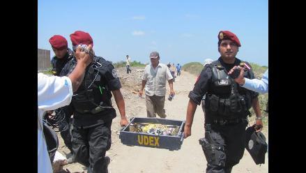Udex será la encargada de recoger granadas en el marco de la amnistía