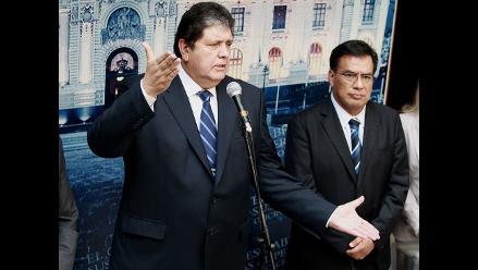 Velásquez: Alan García presentará candidatura