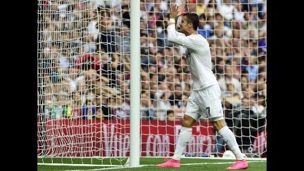 Real Madrid vs. Málaga: Cristiano Ronaldo desperdicia increíble opción de gol