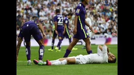 Real Madrid no pudo con Málaga y pierde liderato de la Liga española