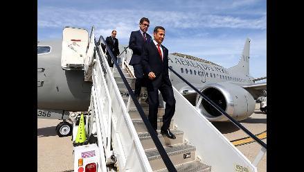 Presidente Humala llegó a Nueva York para asamblea en la ONU