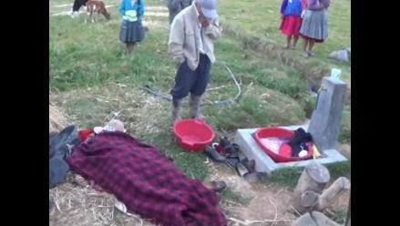 Cajamarca: joven madre fallece ahogada en tina donde lavaba ropa