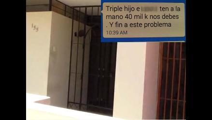 Ica: extorsionadores atacan vivienda de ingeniero y amenazan a su familia