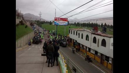 Arequipa: pobladores de Islay realizaron nueva movilización