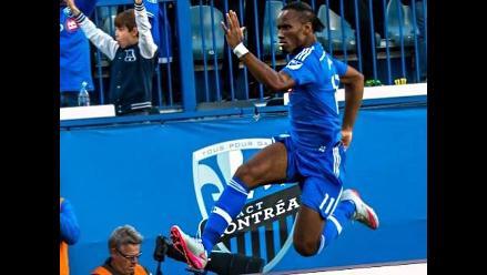 YouTube: Didier Drogba demostró su calidad con dos golazos en la MLS