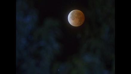 Luna roja podrá verse este domingo en todo el Perú