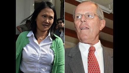 Keiko Fujimori y Kuczynski lideran intención de voto, según GfK