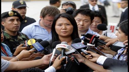 Fujimori: FFAA no están preparadas para brindar seguridad en las calles