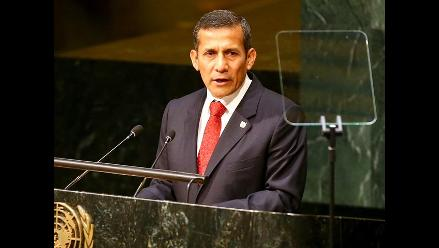 Cambio climático: Humala propone manejo responsable de bosques