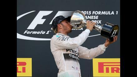 Lewis Hamilton conquistó el GP de Japón e iguala récord de Ayrton Senna