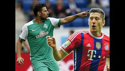 Claudio Pizarro: Robert Lewandoski amenaza quitarle récord en Bundesliga